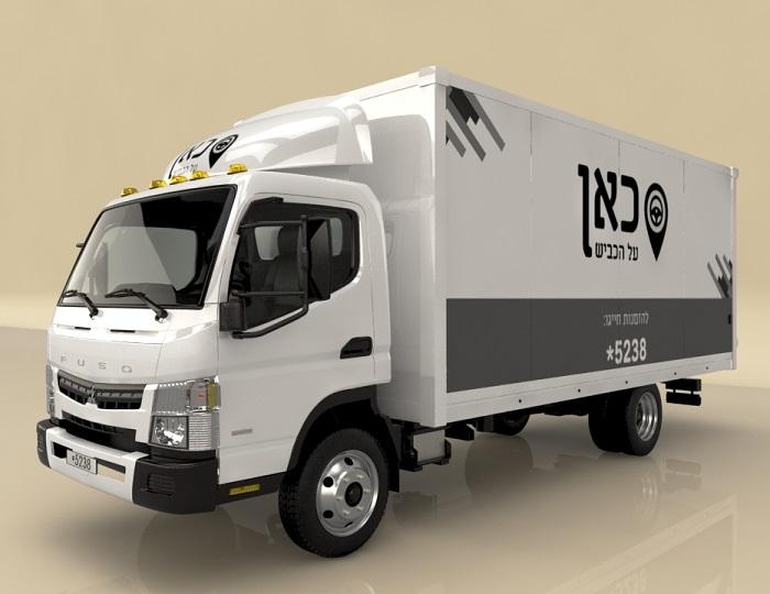 השכרת משאית עם נהג