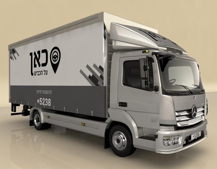 מבריק משאית מרצדס למכירה יד 2 | טרייד אין | QW-86