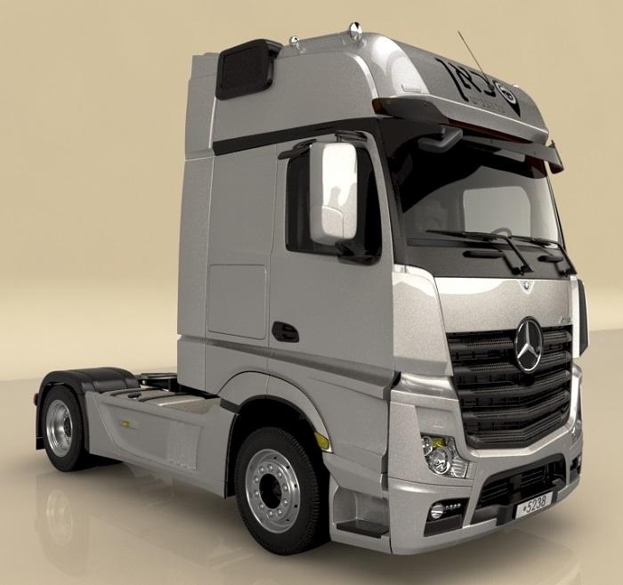 מקורי משאית מרצדס למכירה יד 2 | טרייד אין | FA-47