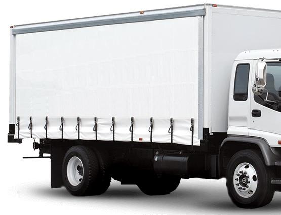 ארגז וילונות למשאית