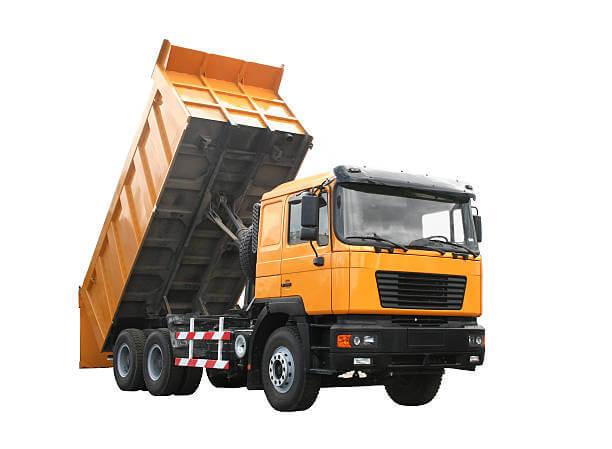 משאית להובלת עפר