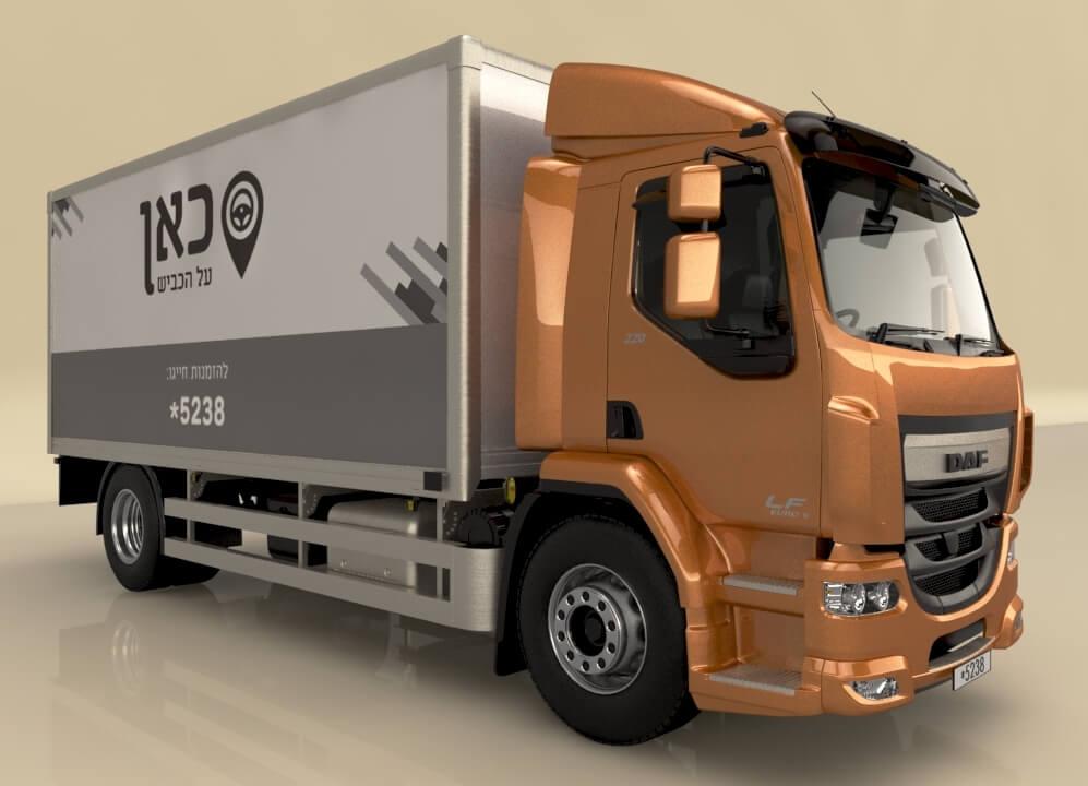 מימון מלא למשאית