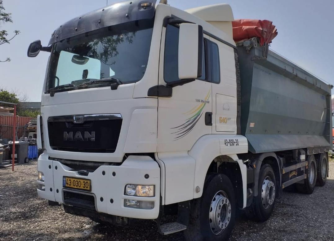 משאית מאן הייבר 32 טון 2014 יד 1